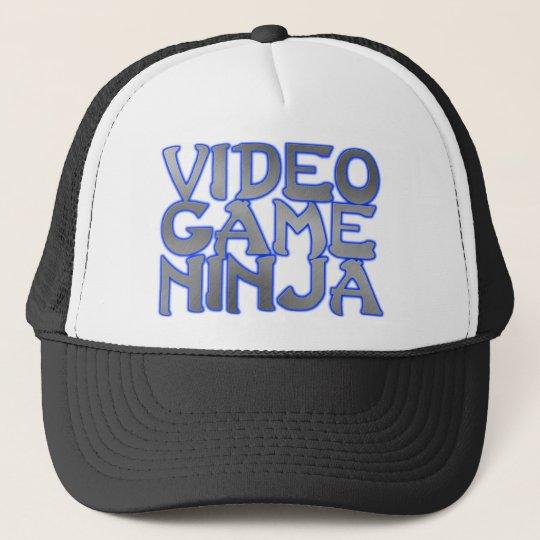 VIDEO GAME NINJA (blue) Trucker Hat
