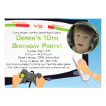 Video Game Party - Personalized Invitations