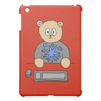 Video Game Player Bear Cover For The iPad Mini