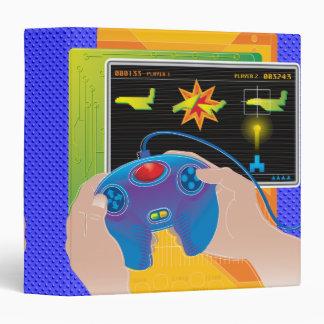 video game player gamer notebook vinyl binders