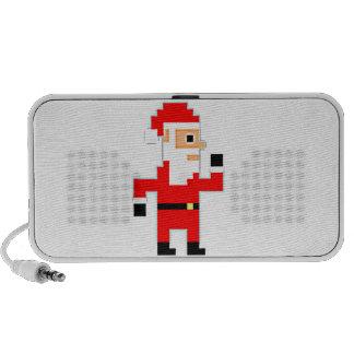 Video Game Santa Claus Portable Speaker