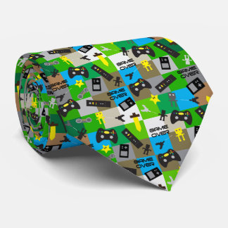 Video Game Theme Gamer Neckwear
