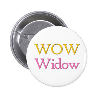 Video Game Widow Pinback Buttons