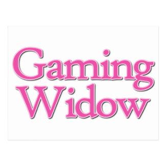 Video Game Widow Postcard
