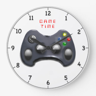 video gamer gifts large clock