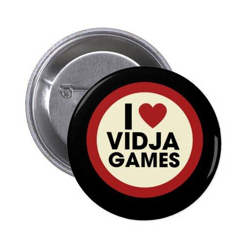 Video Games 2 Inch Round Button