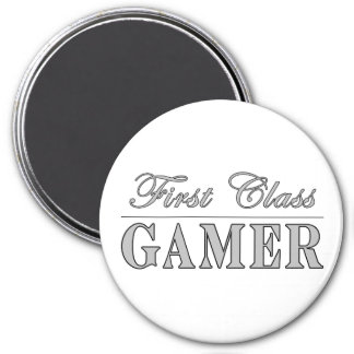 Video Games and Gamers : First Class Gamer Refrigerator Magnets