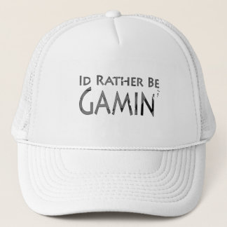 Video Games and Gaming - I'd Rather be Gaming 2 Trucker Hat