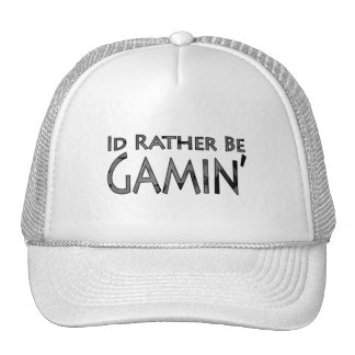 Video Games and Gaming - I'd Rather Be Gaming Trucker Hat