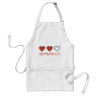 Video Games Adult Apron