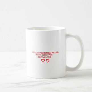 video games coffee mug