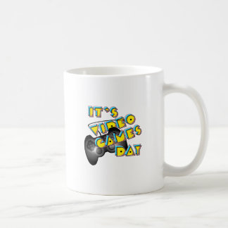Video Games Day Classic White Coffee Mug