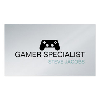 Video Games Gamer Specialist Business Card