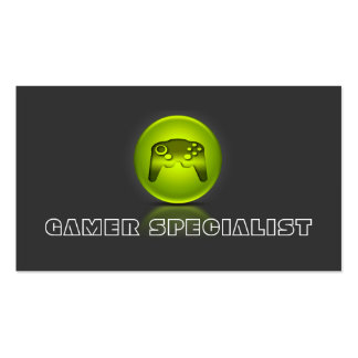 Video Games Gamer Specialist Double-Sided Standard Business Cards (Pack Of 100)