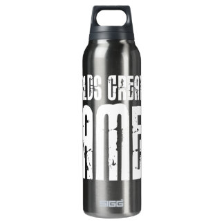 Video Games Gaming & Gamers Worlds Greatest Gamer 16 Oz Insulated SIGG Thermos Water Bottle