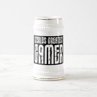 Video Games Gaming & Gamers Worlds Greatest Gamer 18 Oz Beer Stein