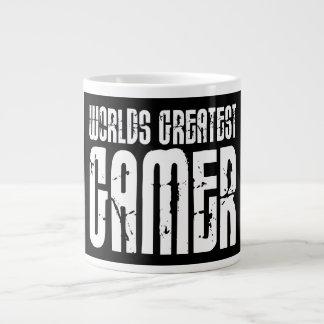 Video Games Gaming & Gamers Worlds Greatest Gamer 20 Oz Large Ceramic Coffee Mug