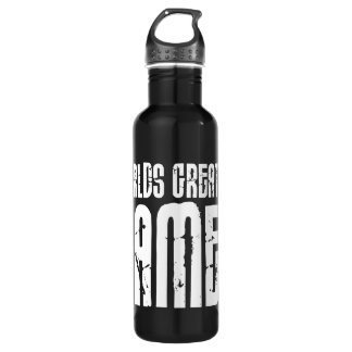 Video Games Gaming & Gamers Worlds Greatest Gamer 24oz Water Bottle