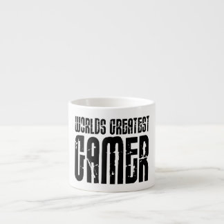 Video Games Gaming & Gamers Worlds Greatest Gamer 6 Oz Ceramic Espresso Cup