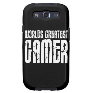 Video Games Gaming & Gamers Worlds Greatest Gamer Samsung Galaxy S3 Covers