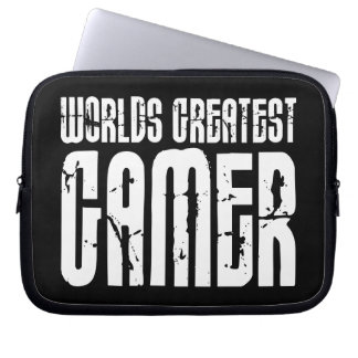Video Games Gaming & Gamers Worlds Greatest Gamer Computer Sleeve