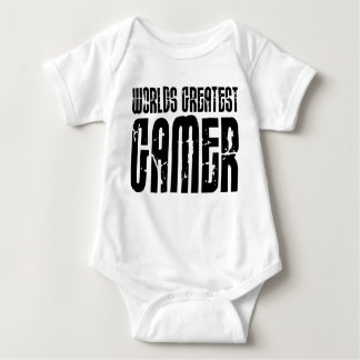 Video Games Gaming & Gamers Worlds Greatest Gamer Infant Creeper
