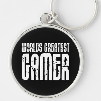 Video Games Gaming & Gamers Worlds Greatest Gamer Keychain