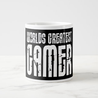 Video Games Gaming & Gamers Worlds Greatest Gamer Large Coffee Mug