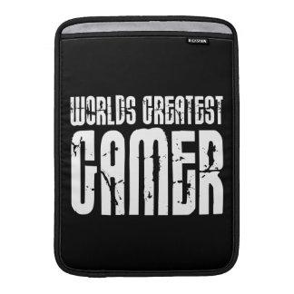 Video Games Gaming & Gamers Worlds Greatest Gamer MacBook Air Sleeves