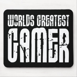 Video Games Gaming Gamers Worlds Greatest Gamer Mousepad