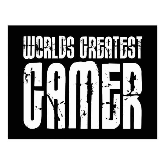 Video Games Gaming & Gamers Worlds Greatest Gamer Postcard