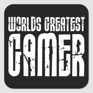Video Games Gaming & Gamers Worlds Greatest Gamer Stickers