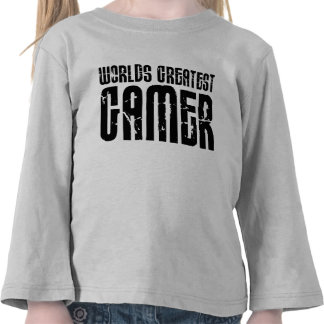 Video Games Gaming & Gamers Worlds Greatest Gamer Tshirt