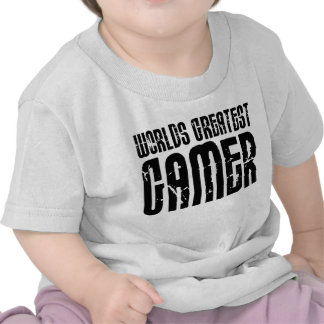 Video Games Gaming & Gamers Worlds Greatest Gamer Tshirts