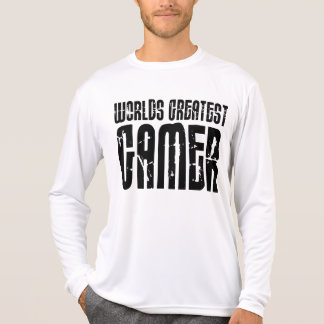 Video Games Gaming & Gamers Worlds Greatest Gamer Shirts