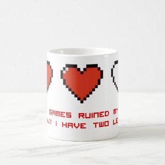 Video Games Classic White Coffee Mug