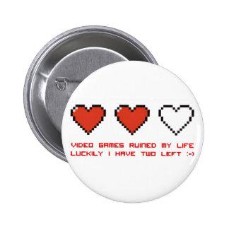 Video Games Pinback Button
