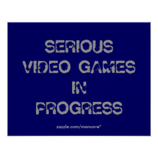 Video Games  Poster Template