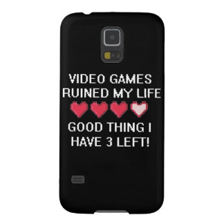 Video Games Ruined My Life Style 1 Galaxy S5 Cover