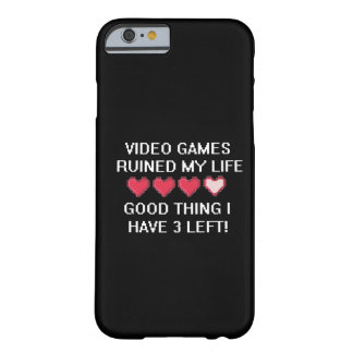 Video Games Ruined My Life Style 1 iPhone 6 Case