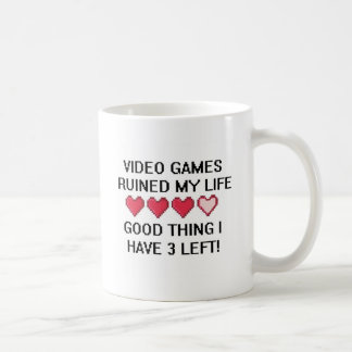 Video Games Ruined My Life Style 1 Mug