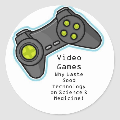 video games stickers