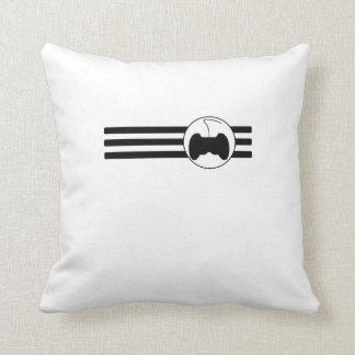 Video Games Stripes Pillow