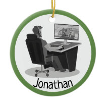 Video Gaming Ornament