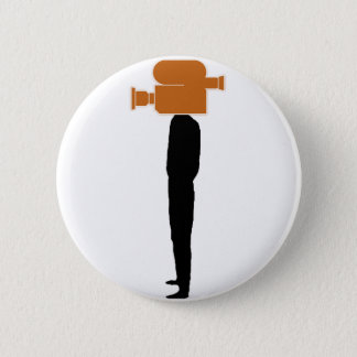 video head - PNG Pinback Button