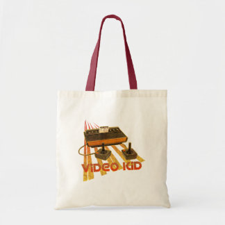 Video Kid Retro Budget Tote Bag