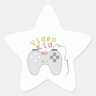 Video Kid Star Sticker