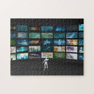 Video Marketing Across Multiple Channels Jigsaw Puzzle