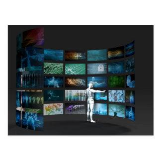Video Marketing Across Multiple Channels Postcard
