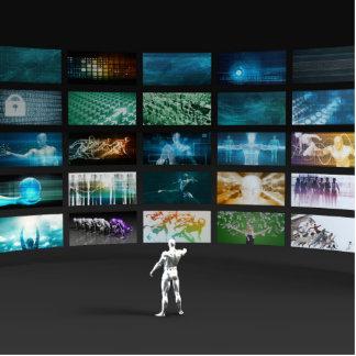 Video Marketing Across Multiple Channels Statuette
